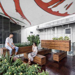 玳山设计丨人民公园-广东时代美术馆互动装置
