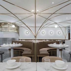 古鲁奇公司丨点点一品,十字拱顶下的茶餐厅