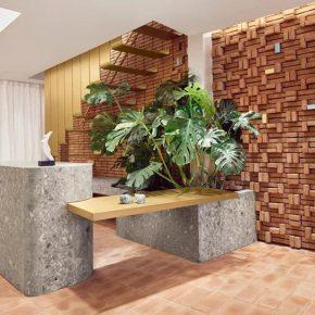 黄铜、红砖、混凝土也能碰撞出的小清新?看看这家店是怎么做的