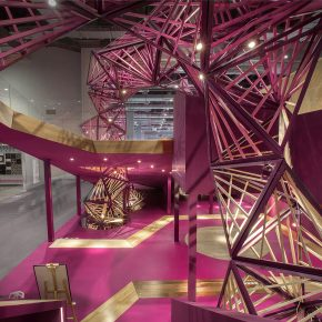 Towodesign堂晤设计丨叠园--久盛展厅