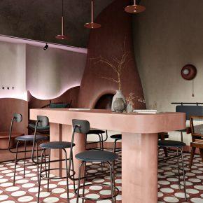 350㎡的布达佩斯餐厅,空间设计引起极度舒适