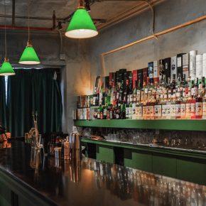 負空間設計丨69㎡的海明威小酒吧