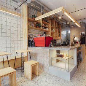 用最简单的材料打造一家33㎡的咖啡店