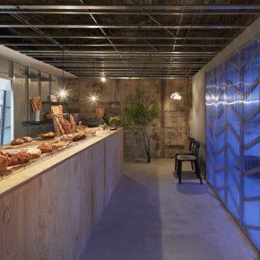 日本清新工业风面包店,小空间也有大讲究!