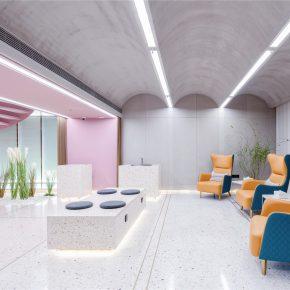 四口建筑丨C+SPA美容美体中心,平衡时空中的美容体验