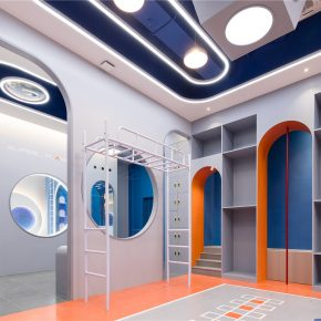 """观町创新研究所丨""""超能星球""""少儿智能运动馆"""