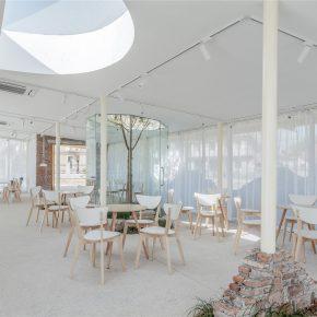 本义建筑丨崇明岛前哨村咖啡馆