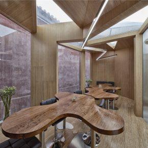 unarchitecte丨紫禁城红墙茶室