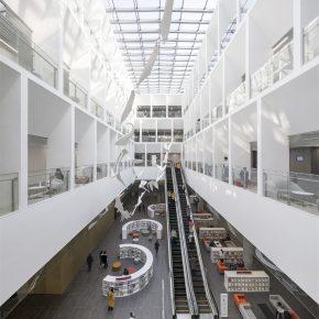 SHL建筑事务所丨宁波图书馆新馆,兼容并蓄的文化融合之作