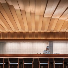 堤由匡建筑设计工作室 丨松子快餐