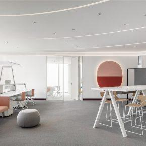 红山设计丨新丝路电子商务公司办公室