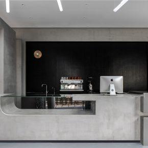 简线建筑设计丨芷麦甜品咖啡店