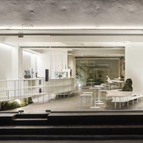 """192㎡韩国咖啡店,把家具做成了一片片""""云朵"""""""