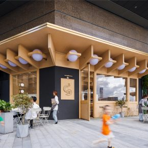 万社设计 |C² Cafe & Bar Cabin In City城市中的小木屋